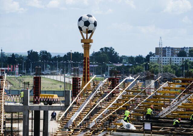 Budowa stadionu Mordovia-Arena na MŚ 2018