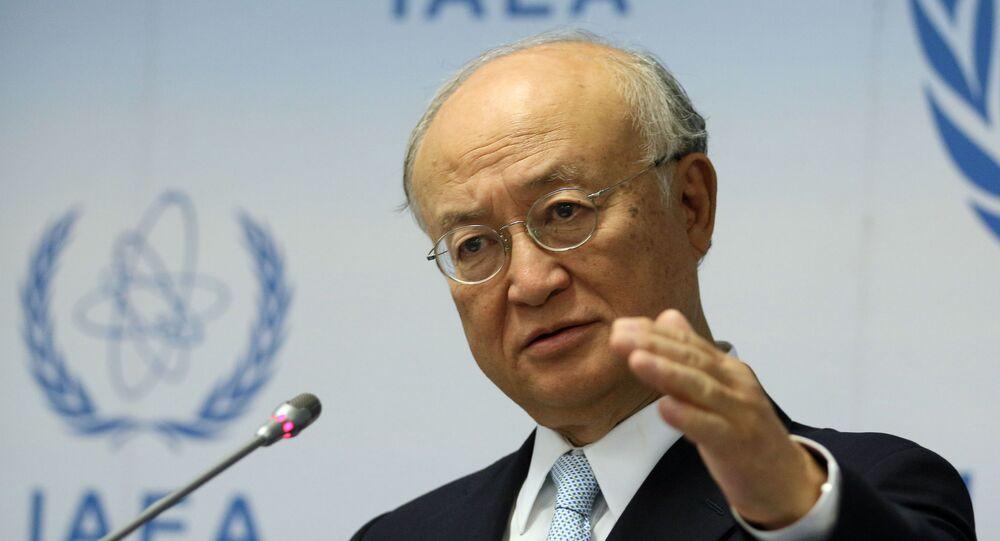 Szef Międzynarodowej Agencji Energii Atomowej (MAEA) Yukiya Amano