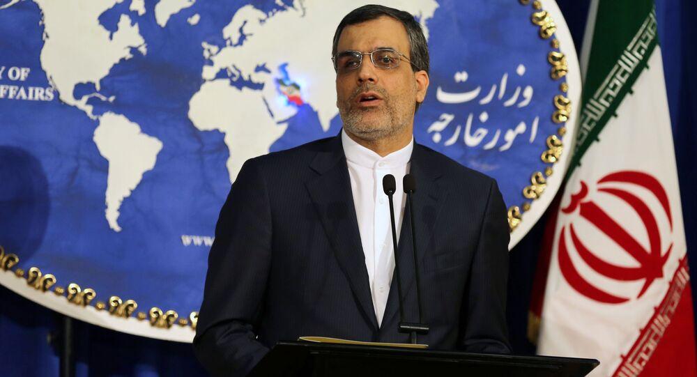 Rzecznik MSZ Iranu Hossein Jaberi Ansari