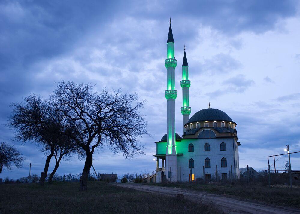Meczet w miejscowości Lewadki pod Symferopolem