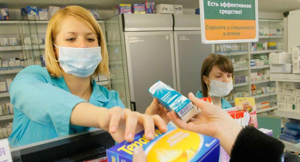 Sprzedaż preparatów przeciwwirusowych w aptekach