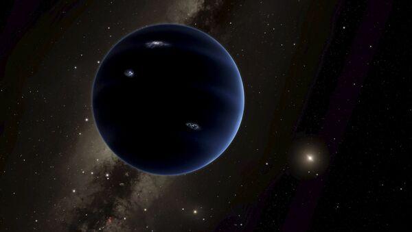Ilustracja przewidywanej nowej planeta Układu Słonecznego Planety 9 - Sputnik Polska