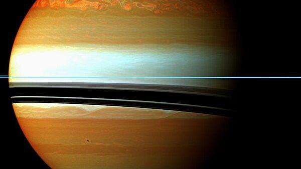 Психоделический снимок Сатурна - Sputnik Polska