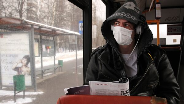 Grypa w Moskwie - Sputnik Polska