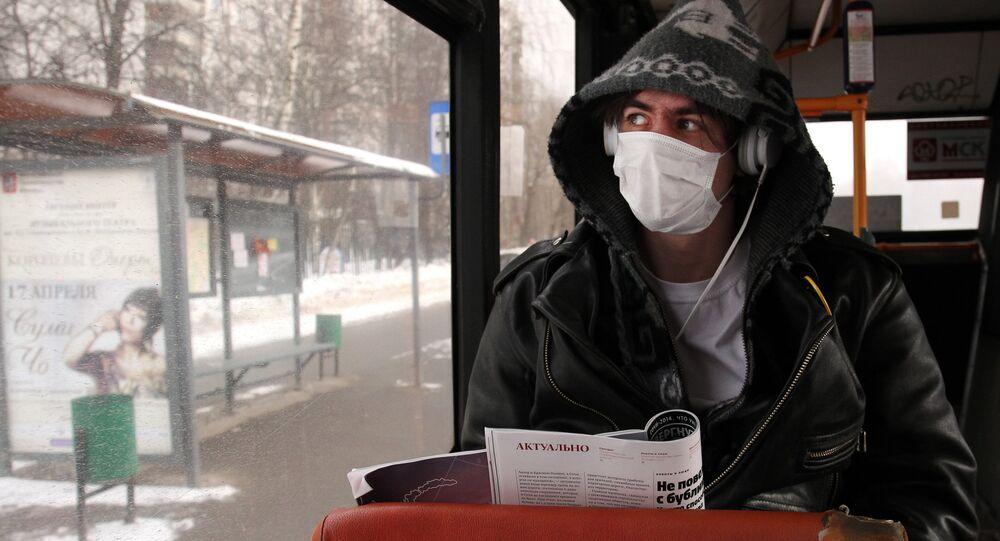 Grypa w Moskwie