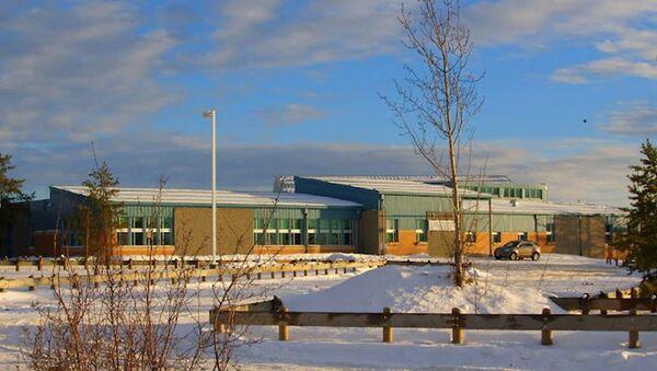 Strzelanina w szkole podstawowej w miejscowości La Loche w Kanadzie - Sputnik Polska