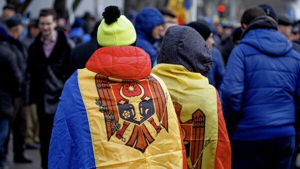 Protesty w Mołdawii - Sputnik Polska