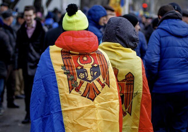 Protesty w Mołdawii