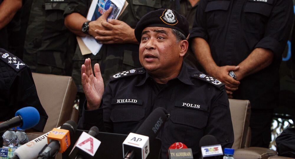 Komisarz policji Khalid Abu Bakar