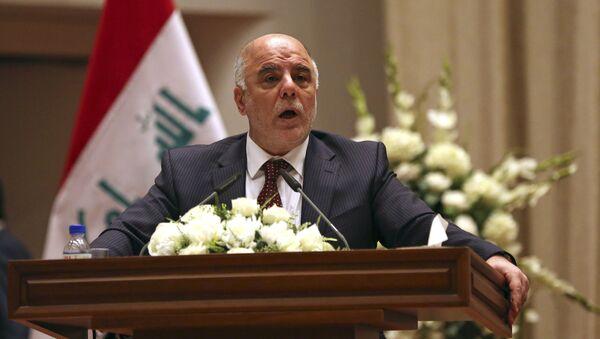 Premier Iraku Hajdar al-Abadi - Sputnik Polska