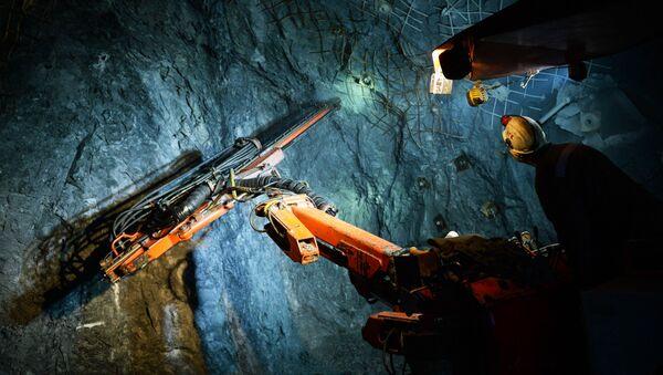 Kompleks tunelowy w kopalni miedzi. - Sputnik Polska