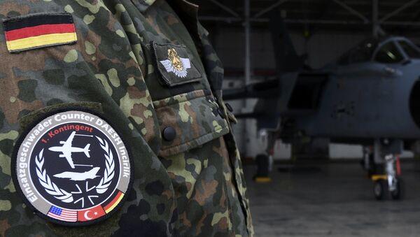 Niemieccy żołnierze na bazie lotniczej w Turcji - Sputnik Polska
