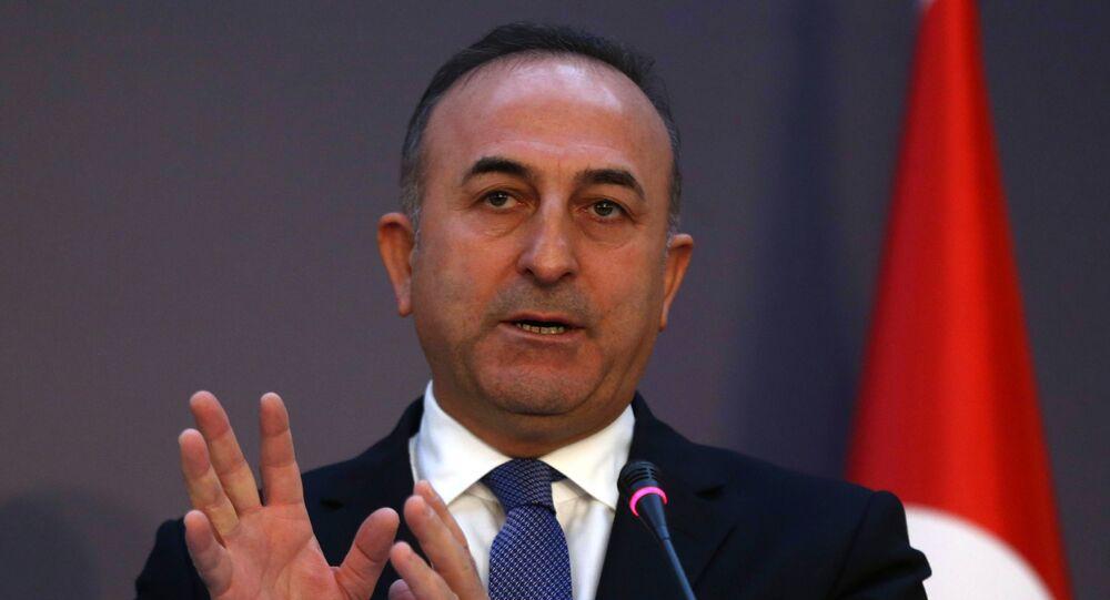 Szef MSZ Turcji Mevlüt Çavuşoğlu