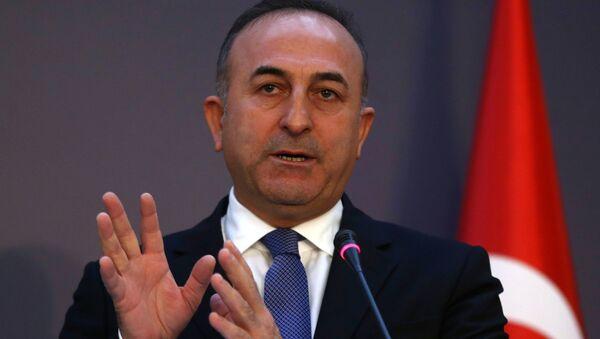 Szef MSZ Turcji Mevlüt Çavuşoğlu - Sputnik Polska