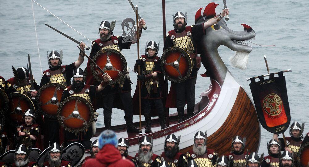 Festiwal wikingów w Szkocji