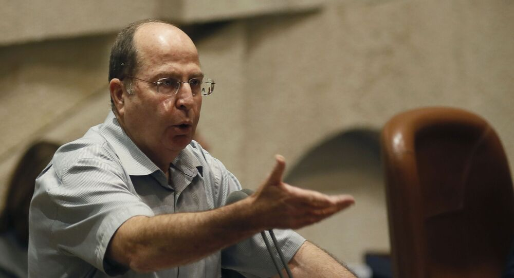 Minister obrony Izraela Moshe Ya'alon