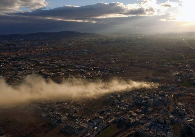 Walki w Daraja w Syrii