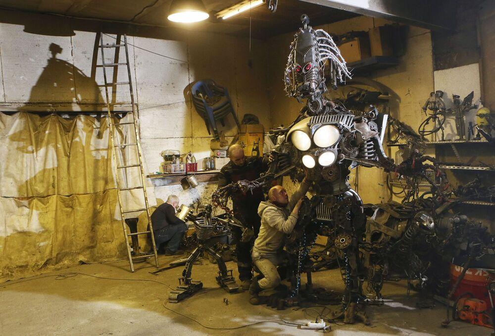 Montaż robota w Diwnogórsku