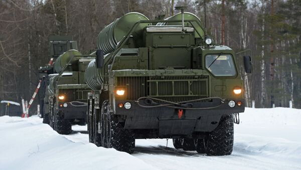 Systemy rakietowe S-400 Triumf - Sputnik Polska