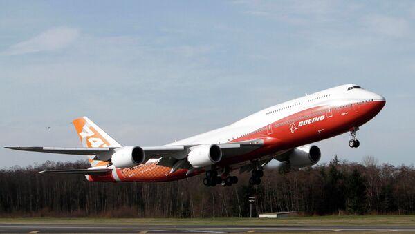 Boeing 747-8 - Sputnik Polska