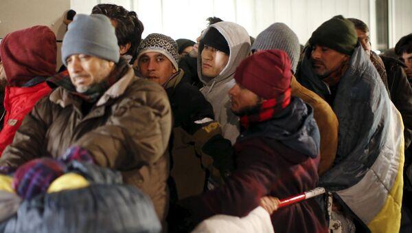 Kryzys migracyjny w Europie - Sputnik Polska