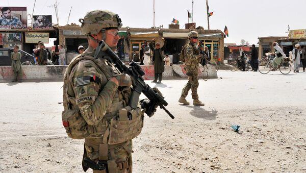 Amerykańscy żołnierze w Afganistanie - Sputnik Polska