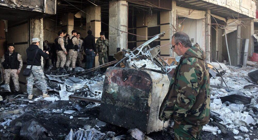 Po atakach terrorystycznych w Damaszku