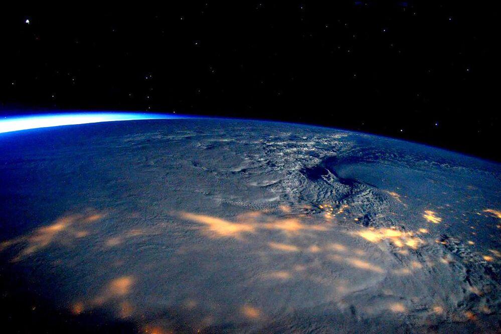 Zdjęcie burzy śnieżnej, jaka przeszła przez USA