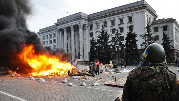 Zamieszki w Odessie - Sputnik Polska