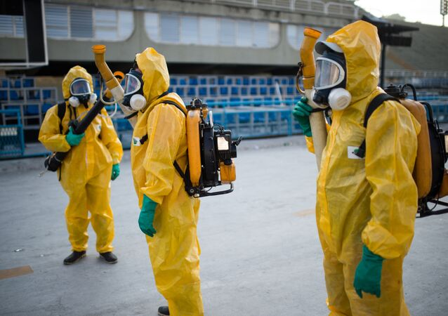 Zwalczanie komarów w Rio de Janeiro