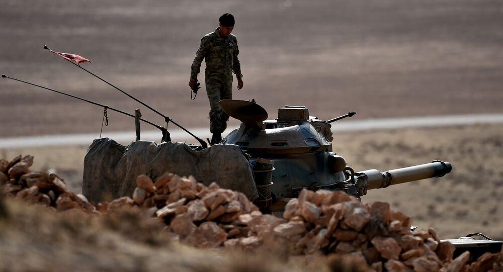 Żołnierz tureckiej armii