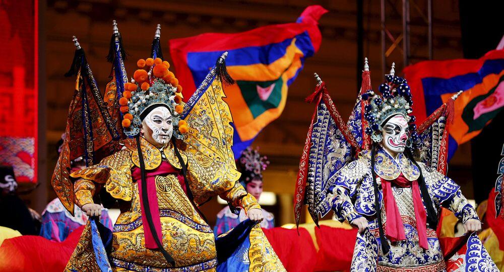 Przygotowanie do chińskiego nowego roku w Zagrzebiu
