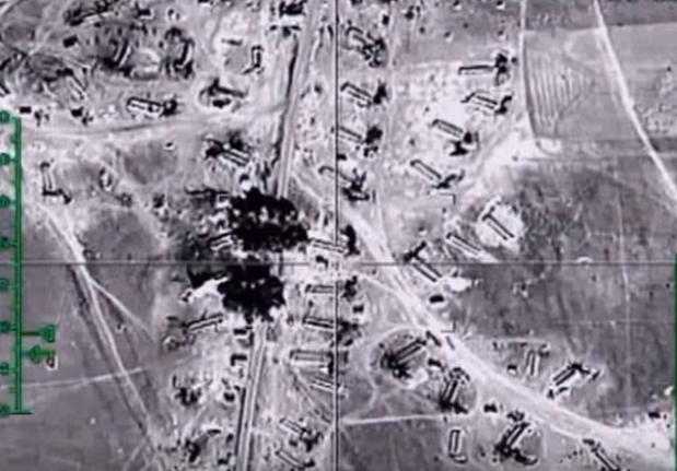 Siły Powietrzno-Kosmiczne Rosji bombardują zbiorniki ropy naftowej terrorystów