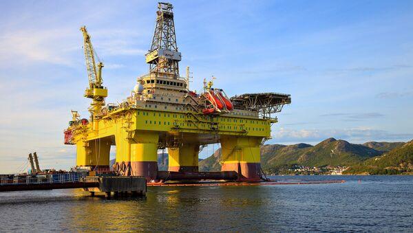 Gassplatformen i Norge - Sputnik Polska