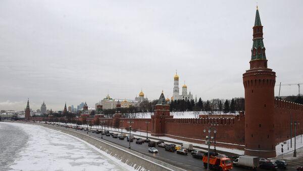 Widok na Kreml w Moskwie - Sputnik Polska