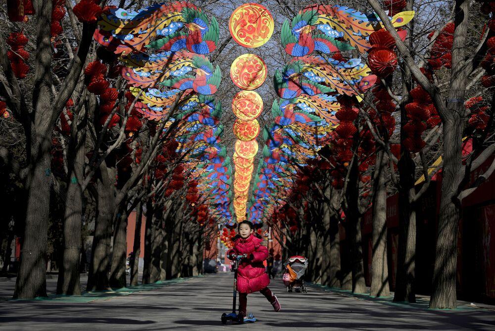 Przygotowania do Chińskiego Nowego Roku w Pekinie