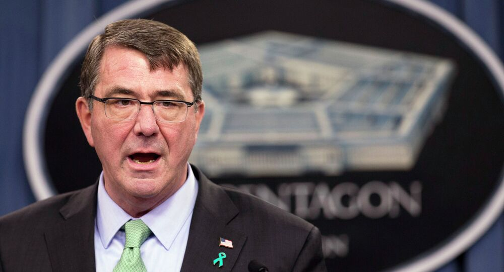 Sekretarz obrony Stanów Zjednoczonych Ashton Carter