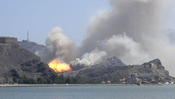 Eksplozja w porcie Aden w Jemenie - Sputnik Polska