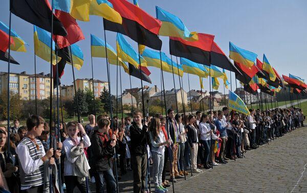 Obchody rocznicy utworzenia UPA, Ukraina - Sputnik Polska