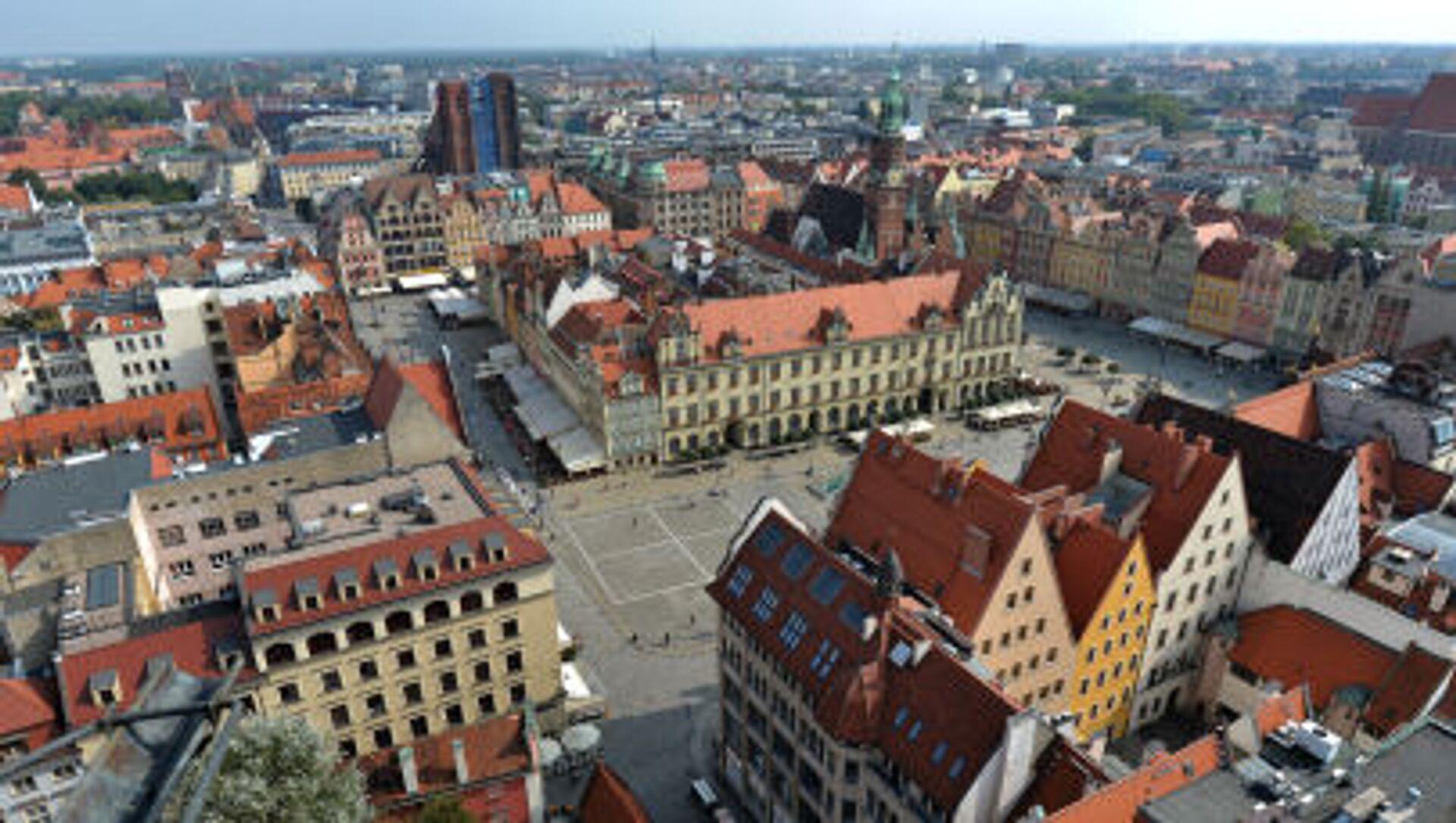 Panorama Wrocławia - Sputnik Polska, 1920, 31.05.2021