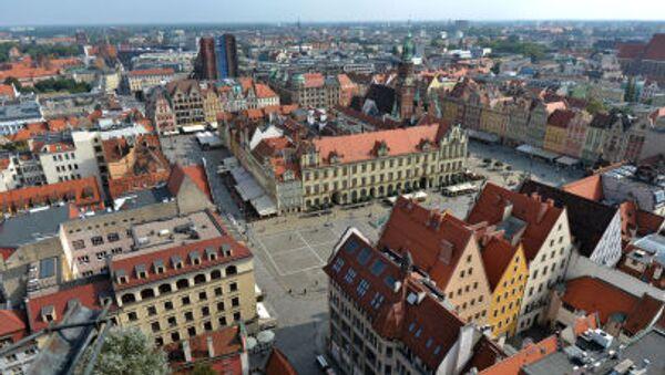 Panorama Wrocławia - Sputnik Polska