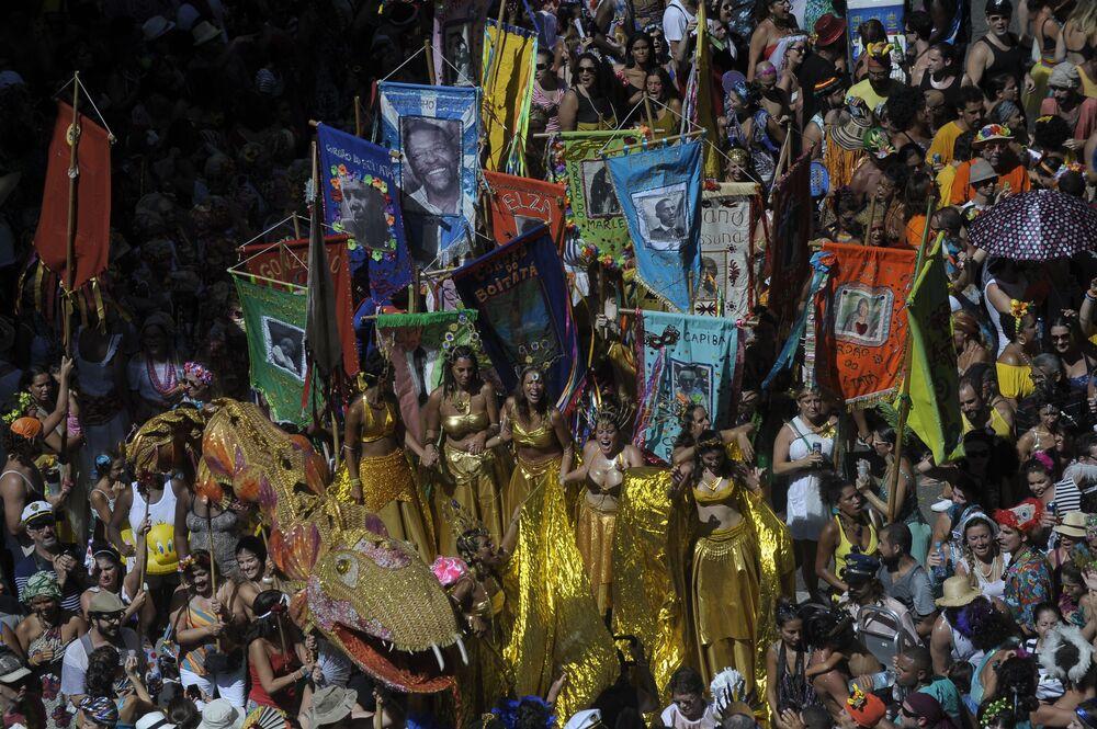 Na ulicach Rio de Janeiro odbędą się taneczne parady szkół samby