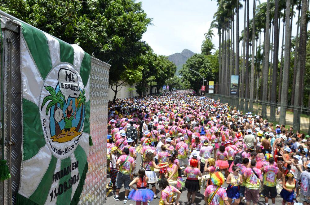 Karnawał przyciąga tłumy turystów z Brazylii i innych krajów