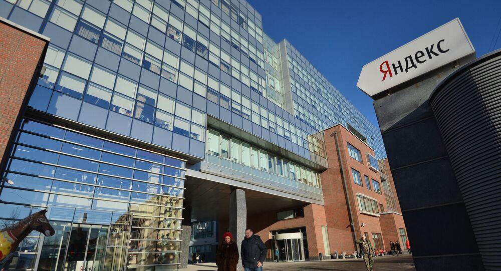 Biuro kompanii Yandex w Moskwie