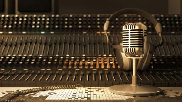 Studio radiowe - Sputnik Polska