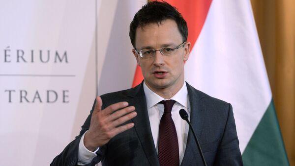 Minister spraw zagranicznych Węgier Peter Szijjarto - Sputnik Polska