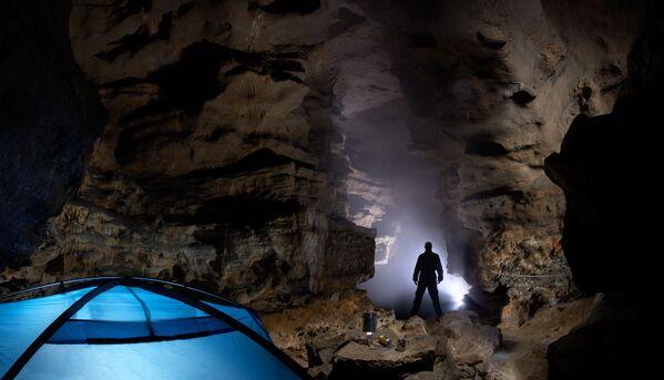 Jaskinia Kinderlinskaja w Baszkortostanie - Sputnik Polska