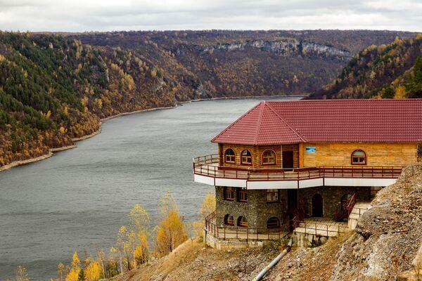 Zbiornik Jumaguzinskoje wodochraniliszcze w Baszkortostanie - Sputnik Polska