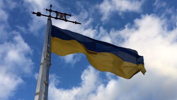 Ukraińska flaga - Sputnik Polska