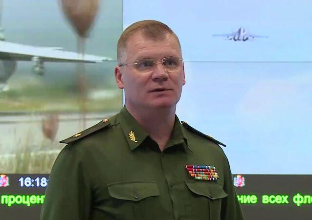 Rzecznik Ministerstwa Obrony Rosji gen. Igor Konaszenkow